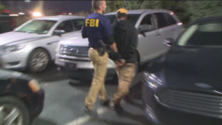 FBI agent arrests sex trafficking suspect