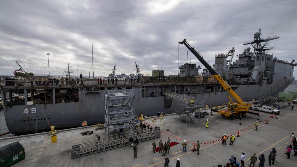 NASSCO Gewinnt $98M Navy Vertrag für ein Jahr dauernden Generalüberholung der USS Harpers Ferry