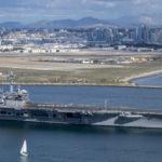 USS Theodore Roosevelt passes North Island
