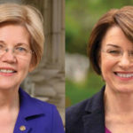 Elizabeth Warren and Amy Klobuchar