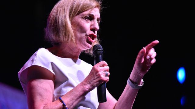 Barbara Bry at August debate of San Diego mayoral candidates.