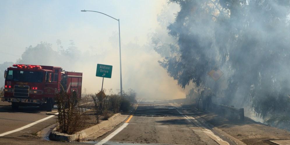 Obdachlose Erwähnt In Fast 13% Der San Diego Feuer Ruft Dispatch
