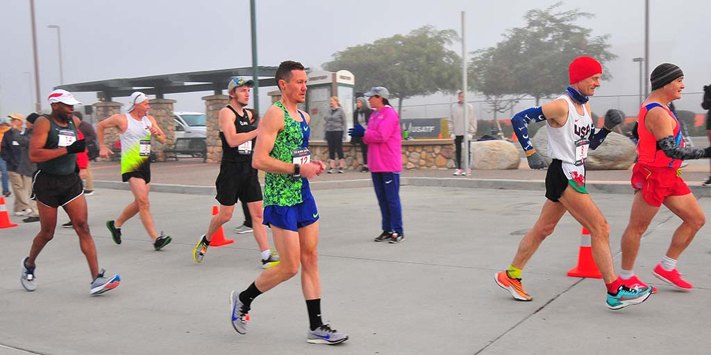 Chris Mosier qualified for Olympic Trials 50K walk by being in the top 15 in America who entered.