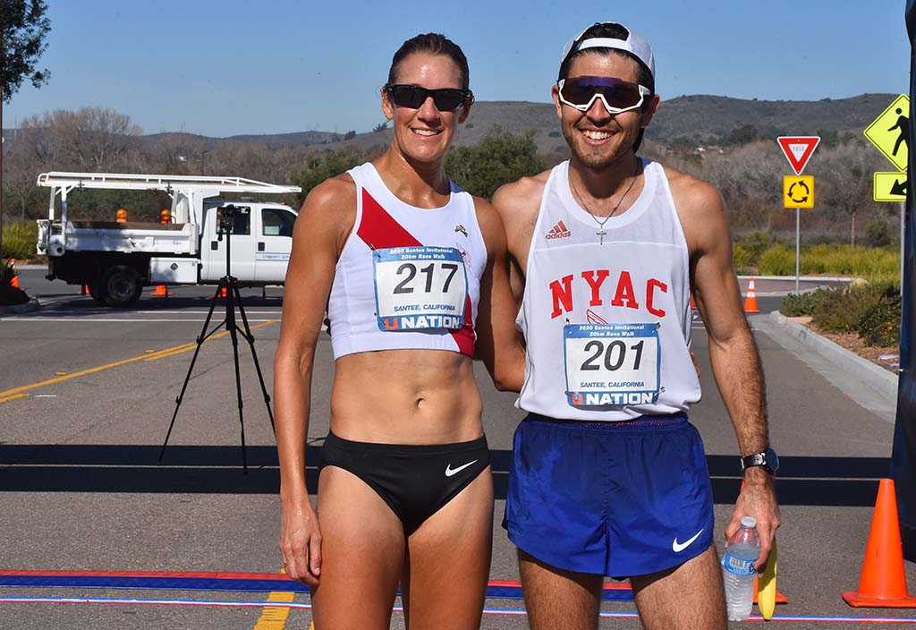"Rachel Seaman of Imperial Beach and Emmanuel ""Natos"" Corvera of San Diego won their respective 20K titles."