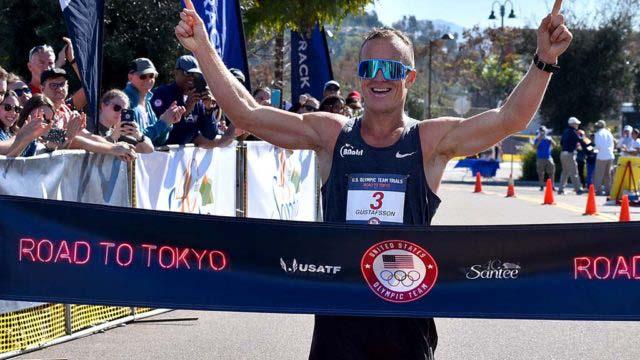 Amerika baru Berjalan Pisang untuk Memenangkan Santee 50K Km, Ditembak di Tokyo Game