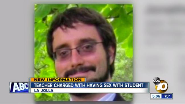 Ex-La Jolla Lehrer, der Sohn des Richters Sammartino Versucht werden, für Student Sex
