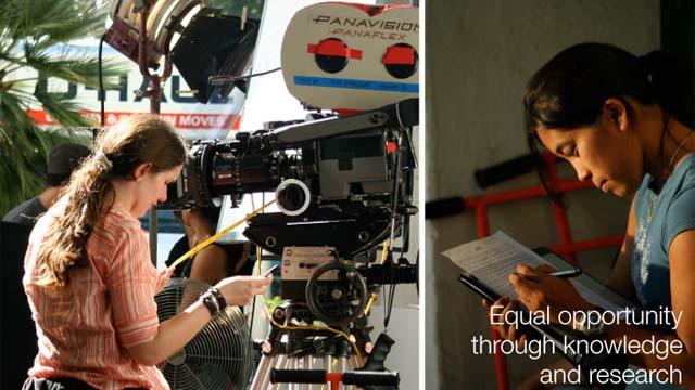 'からパリティ':女性もあるかもしれません1.5映画監督、作家、生産者とSDSU