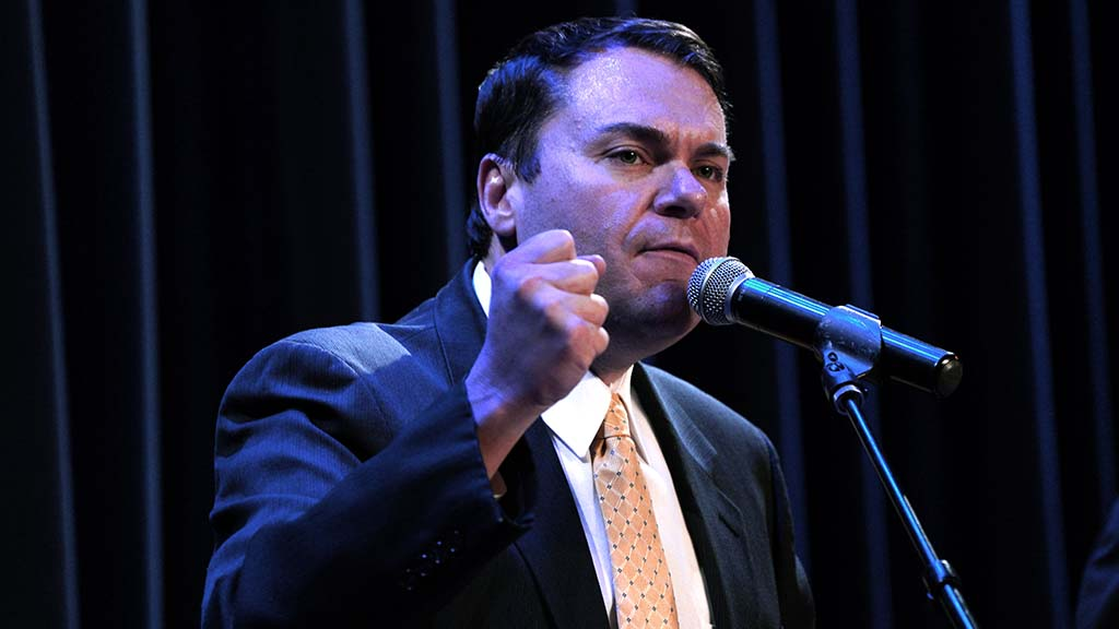 "Carl DeMaio frequently made reference to his support for Donald Trump, saying: ""The president needs more fighters."""