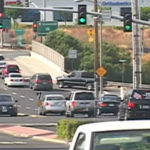 Congested Carlsbad traffic