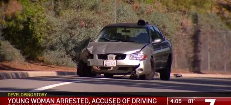 Scene of fatality involving drunken driver in Rancho Penasquitos area