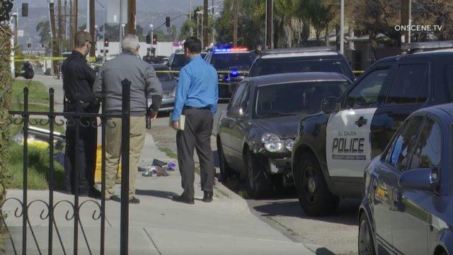 Investigators at scene of shooting