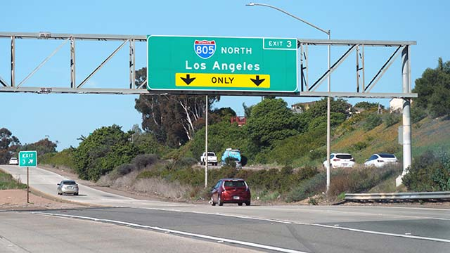 Freeway in San Diego