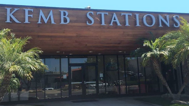 Entrance to KFMB stations