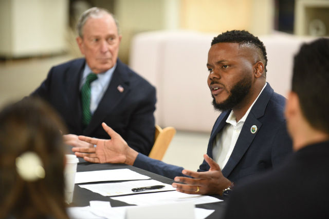 Mike Bloomberg and Michael Tubbs