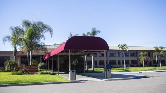 Quarantine facility at Miramar