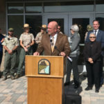 Scott Sherman opens ranger station