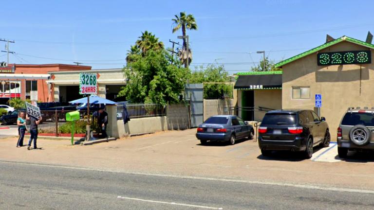 Royal Kush dispensary as seen in May 2019.