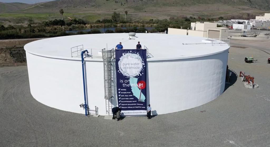 オーシャンサイドブレードの高度浄水プロジェクト