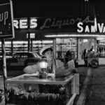 Taco vendor in Tijuana