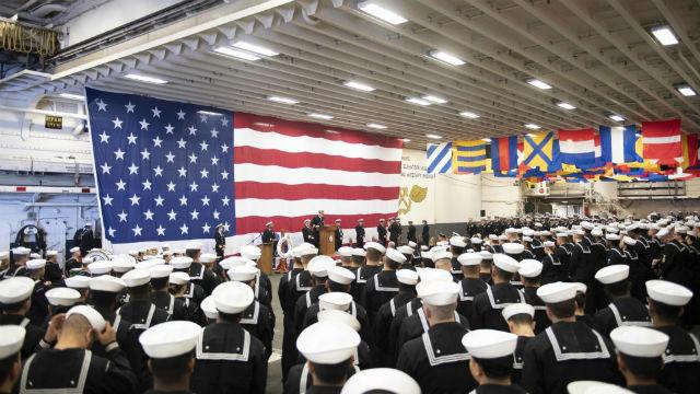 USS Boxer anniversary celebration