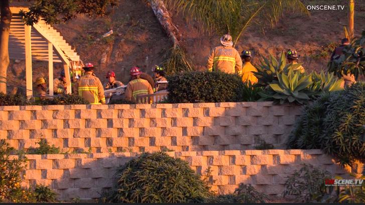 San Miguel fire crews were part of rescue effort in Casa de Oro.