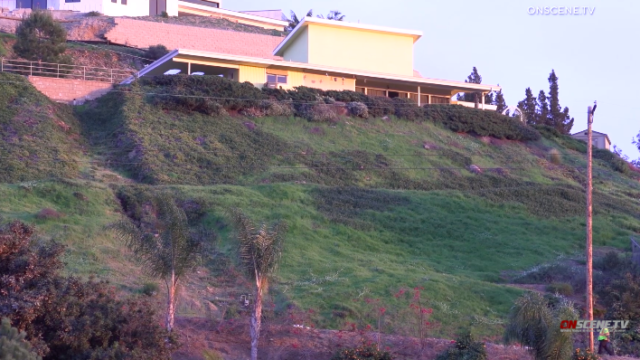 Steep embankment was scene of fatal crash in Casa de oro near Mount Helix.