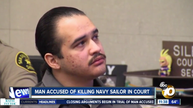Edson Acuna in earlier court appearance