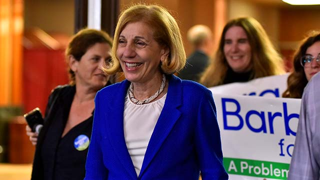 Councilwoman Barbara Bry was a close third in the San Diego mayoral race, but short of a November runoff. Photo by Chris Stone