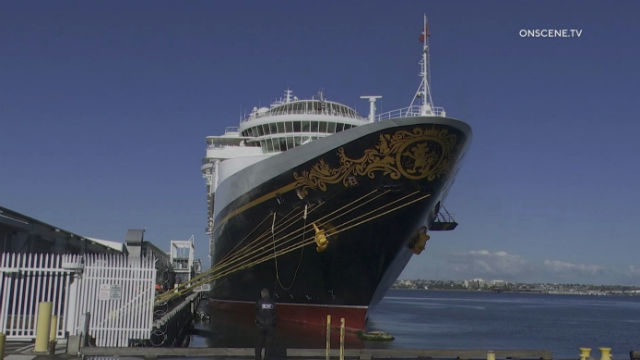 Disney Wonder cruise ship
