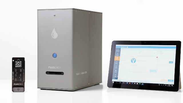 Fluxergy test system