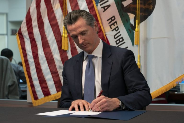 Gavin Newsom signs executive order