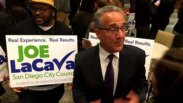 Joe LaCava topped a field of eight in San Diego's District 1 council race.