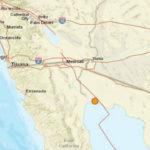 Mexicali earthquake location