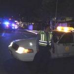 Police vehicles on Ingraham Street