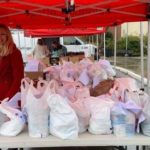 Emergency food bags were distributed at the Anita & Stan Maag Food & Nutrition Center at Palomar College.