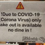 Sign on a restaurant in Vista