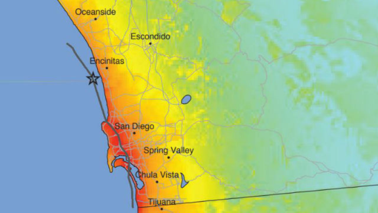 Dormant Rose Canyon Fault In San Diego Could Produce Deadly