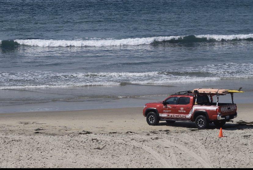 Παρά Τη Διαδεδομένη Κλείσιμο, Κάποια San Diego-Τις Παραλίες Της Περιοχής Παραμένουν Ανοιχτά