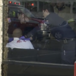 Paramedics treat patient