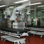 Hospital beds on USNS Mercy