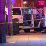 Van outside bar in Encinitas