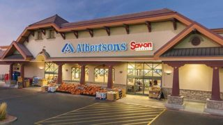 Albertsons on West Valley Parkway in Escondido where a worker tested positive for COVID-19.