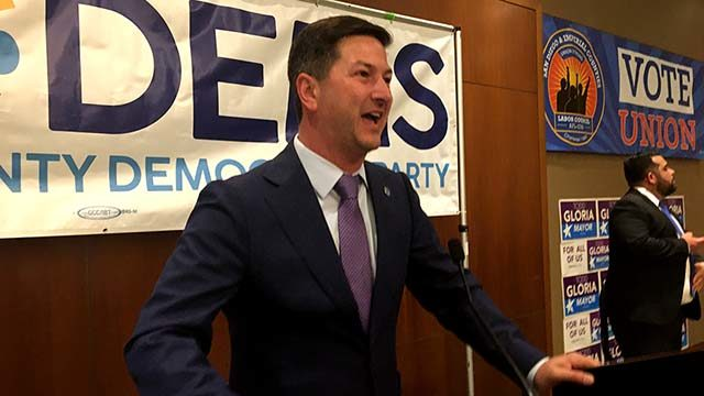 Councilman Chris Ward led his nearest rival in the 78th Assembly District by 30 percentage points.