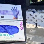 Items bought in coronavirus-connected price gouging operation.
