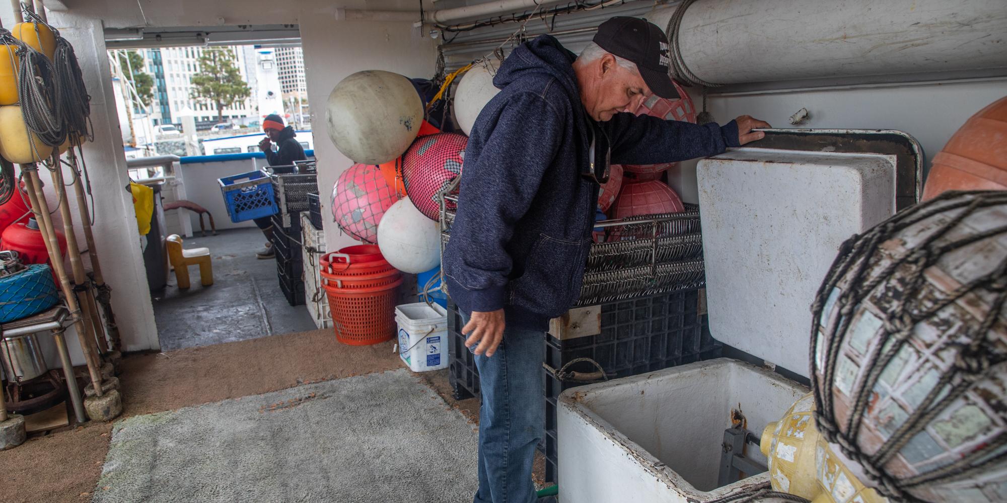 Ökonomie Der Coronavirus-Slam-Kalifornien, Kommerzielle Fischer, Einschließlich der In San Diego