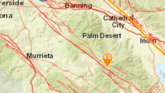 Σεισμός 4.9 Κλονίζει Την Έρημο Ένιωσα Ευρέως Σε Όλη San Diego, Riverside, Όραντζ