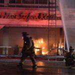 Firefighters battle China Max blaze