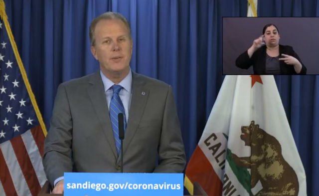 Mayor Kevin Faulconer announces partnership