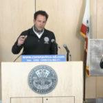 Supervisor Nathan Fletcher speaks at press conference