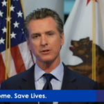 Gavin Newsom speaks at press conference